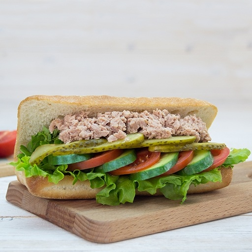 Sandwich with Tuna Fish